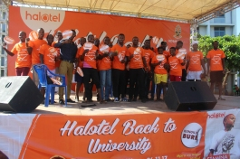 Thousands attends Halotel's back to University Concert